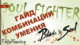 Soul Fighter Мастер Ци Обзор и ГАЙД Комбинации Ротации Умения Blade and Soul