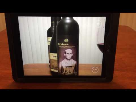 19 Crimes Wine Augmented Reality