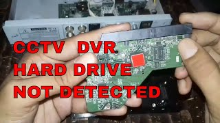 HDD REPAIR ||HARD DRIVE NOT RECOGNIZED IN H.264 CCTV DVR(PART 2)?