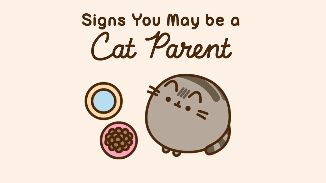 Pusheen: Signs You May be a Cat Parent