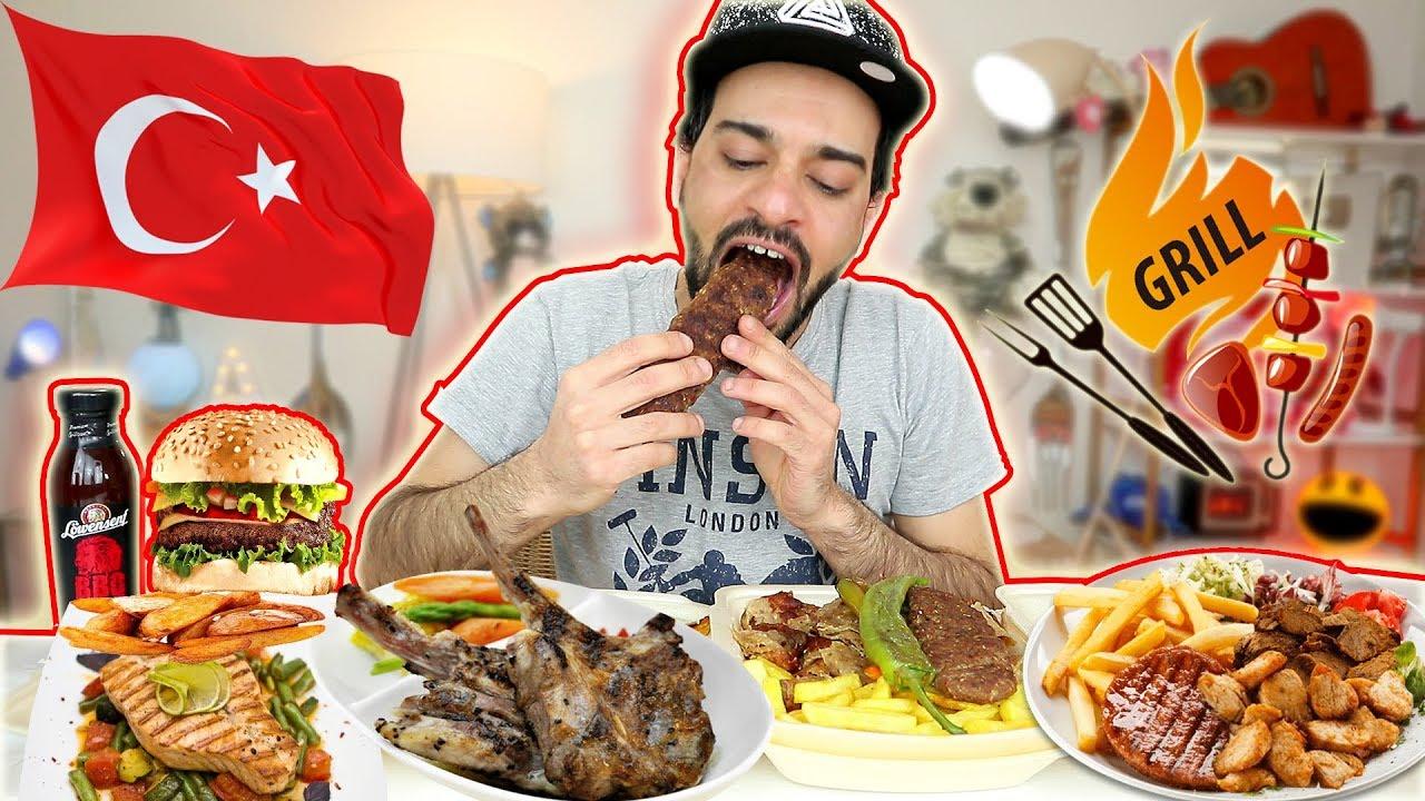تحدي المشاوي التركية - وجبة مشاوي تركية متنوعة | Turkish mixed Grill Challenge