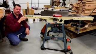 Making table extensions for a 6 inch jointer