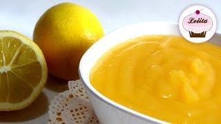 Receta: Lemon curd o crema de limón casera