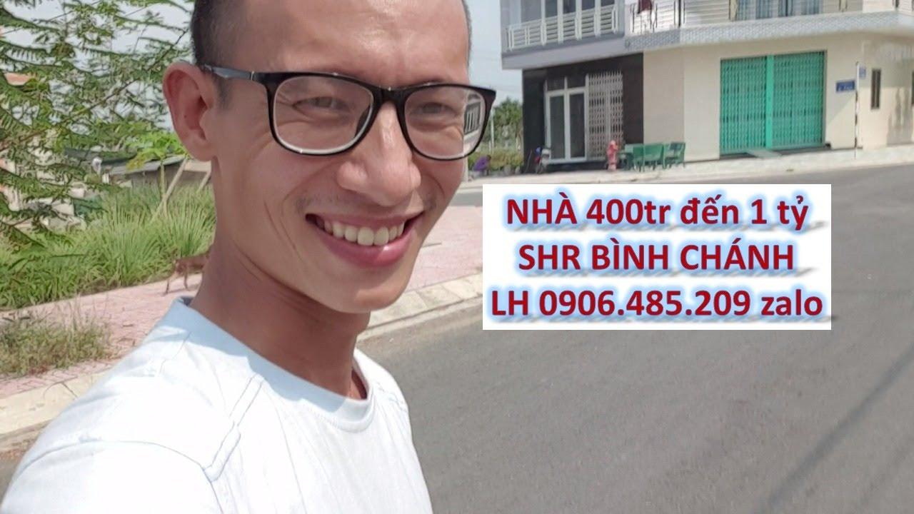 Nhà bình chánh nhà quận 8 giá từ 400tr SHR chính chủ LH zalo 0906485209
