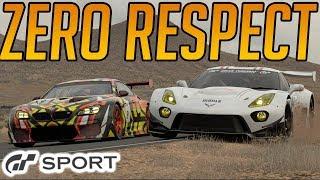Gran Turismo Sport: Zero Respect Shown