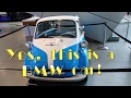 The BMW World and the BMW Isetta