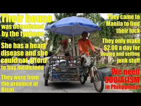 Travel to the Philippines and meet these Real Filipinos in the Society. Sharon, the Junk Collector
