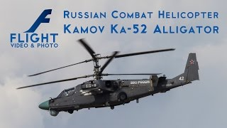 Kamov Ka-52 Alligator - Russian Attack Helicopter 4K UltraHD Video(Kamov Ka-50 Black Shark (Чёрная акула; Chornaya Akula, Hokum A) is a single-seat Russian attack helicopter with the distinctive coaxial rotor system of the ..., 2016-03-10T15:00:01.000Z)