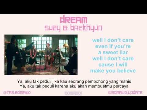 DREAM - SUZY FEAT. BAEKHYUN [MV & EASY LYRIC ROM+INDO]