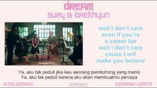 Gambar cover DREAM - SUZY FEAT. BAEKHYUN [MV & EASY LYRIC ROM+INDO]