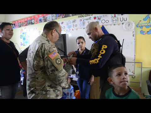 Coast Guard, partner agencies provide aid to Utuado, Puerto Rico, residents
