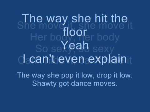 Get Cool-Shawty Got Moves+Lyrcis (Step up 3D)