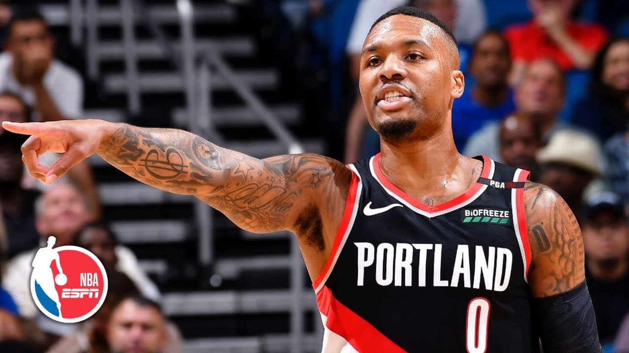 Damian Lillard does it again with 61 points as Blazers seize eighth ...