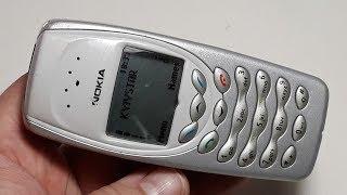 Реставрация телефона Nokia 3410 онлайн ретро раритет vintage phone
