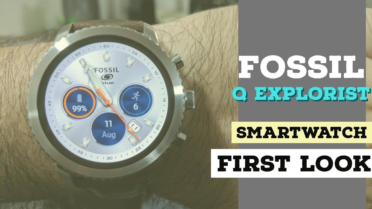 Fossil Gen 3 Q Explorist: Unboxing & First Look