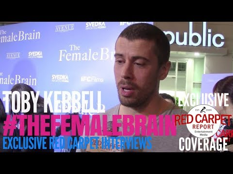 Toby Kebbell ed at the Premiere of IFC's