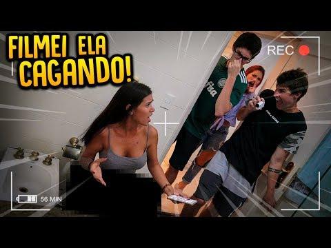FILMEI A EX DO MEU IRMÃO NO BANHEIRO E ELA FICOU COM VERGONHA!! [ REZENDE EVIL ]