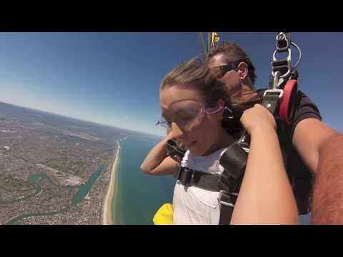 Tayla Barrand at Coastal Skydive