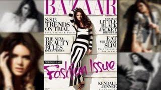 Baixar Kendall Jenner Talks Skinny Weight Criticism in Harper's Bazaar 2013!
