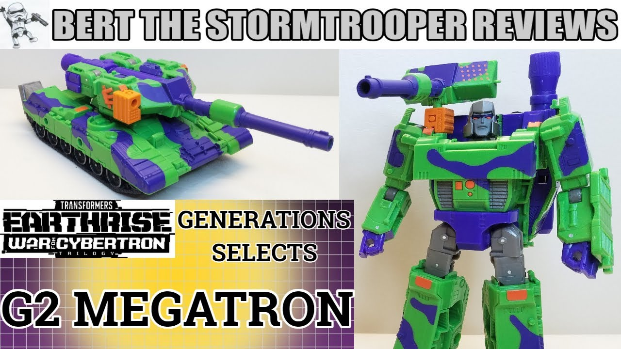 Generations Selects G2 MEGATRON Review by Bert the Stormtrooper!