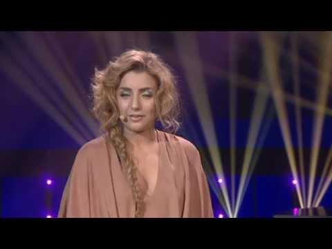 Melodifestivalen 2012 - Gina med G, Sarah med S (Vad heter programledarna egentligen?)