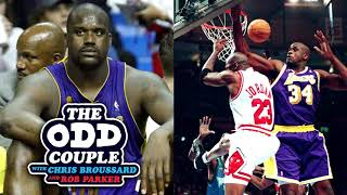 Shaq Says Lakers Threatened To Trade Him If The Team Lost 2004 NBA Finals - The Odd Couple