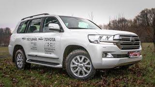 2016 Toyota LAND CRUISER 200 V8 4.5 дизель: народный тест