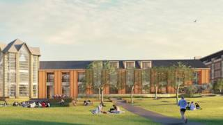 A quick look at the new student center opening on ecu's health sciences campus in 2017!