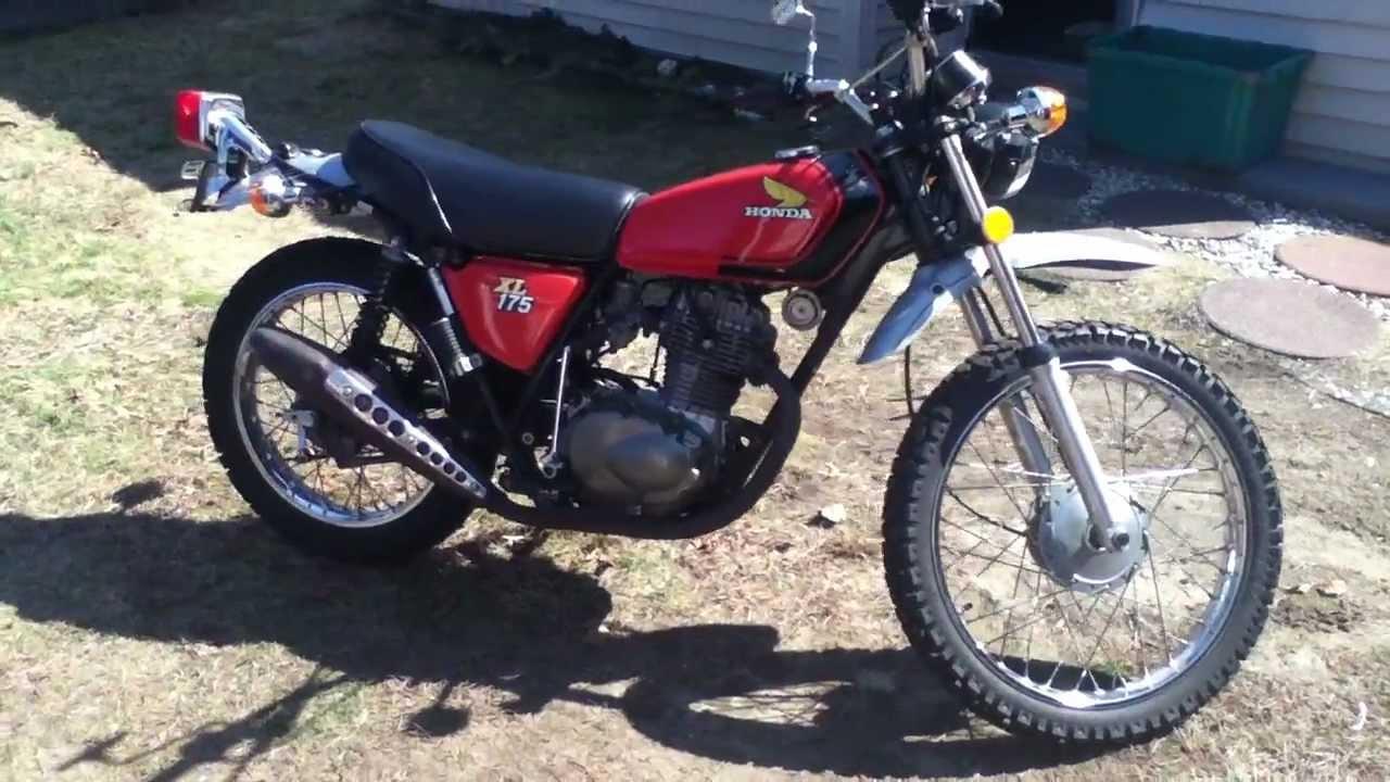 1974 Honda XL 175 - YouTube