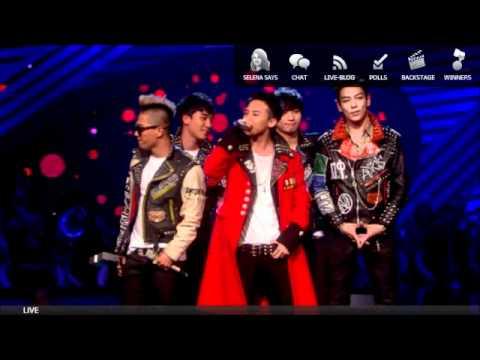 BIG BANG WINNING MTV EMA WORLDWIDE ACT AWARD 2011!!!!!!!!!!!!!!!!!!!!!!!!!!!!