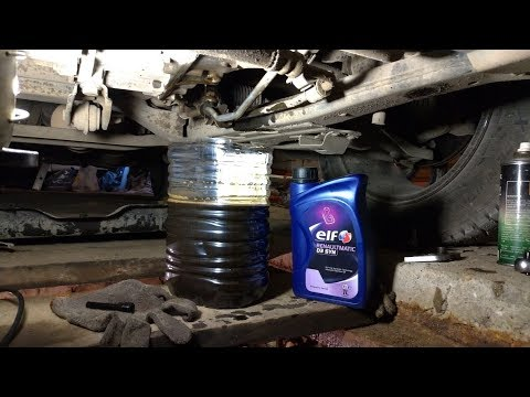 Замена масла в автомате DP8 Renault Kaptur, Duster