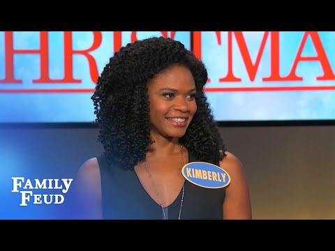 Kimberly Elise reveals her character in Almost Christmas!  Family Feud