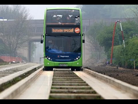 Cambridgeshire Guided Busway - Timelapse