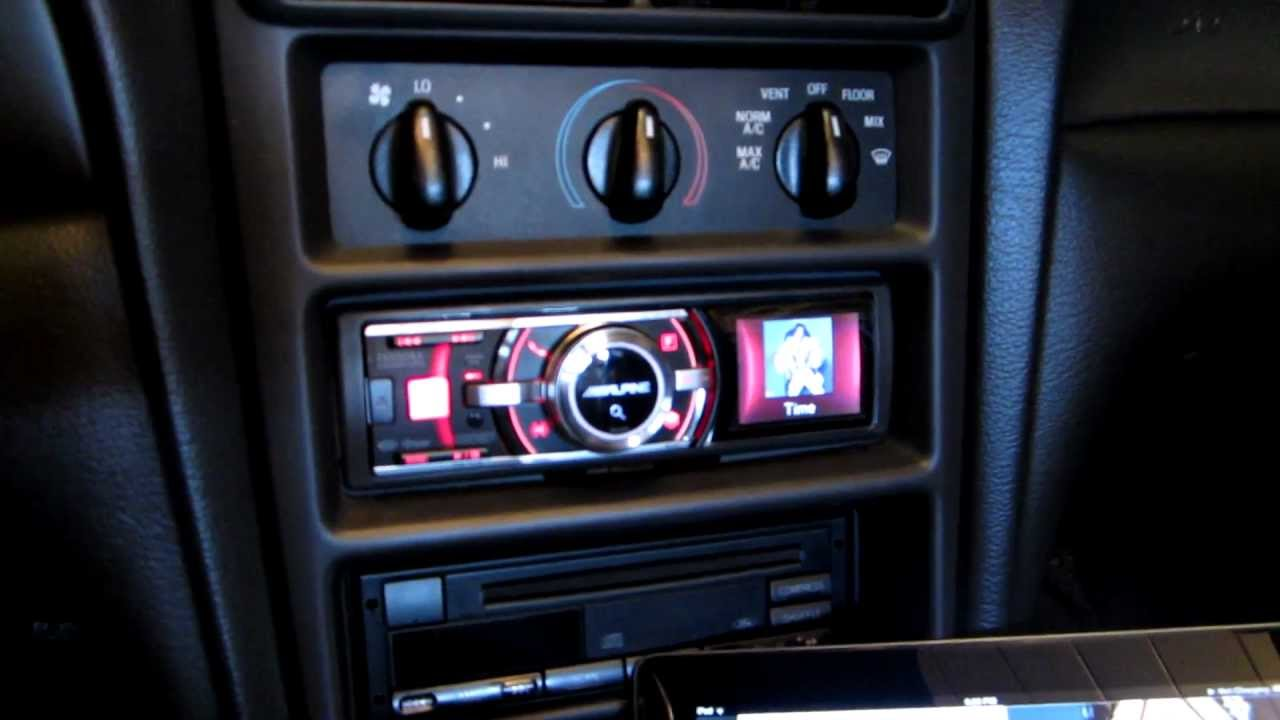 99 Mustang Cobra >> JL Audio Car Sound System on a 99 Convertible Mustang ...