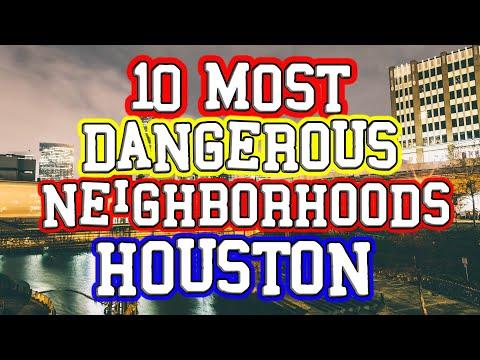 Top 10 Most Dangerous Houston, Texas Neighborhoods.