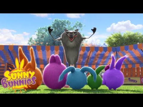 Cartoons For Children | Sunny Bunnies THE BIG GRAY WOLF | NEW SEASON | Funny Cartoons For Children
