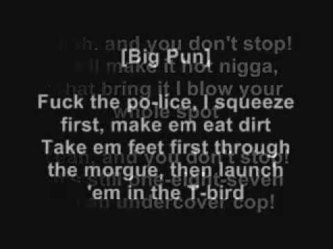 Big Pun ft  Fat Joe   Twinz Deep Cover '98 (Lyrics on Screen)