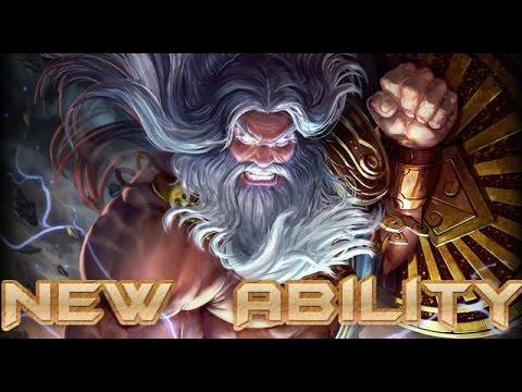 Smite: Zeus New Ability re-work Gameplay