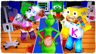 THE GRINCH DIES! I WILL OPERATE IT FROM INSIDE - MINECRAFT