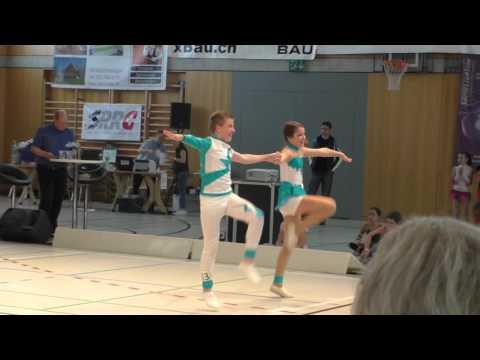 Rock Dance Company - Championnat Suisse 2016 - Bryan & Ella - 1er tour