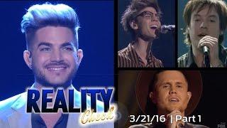 American Idol 2016 | Week 11 Top 5 | Reality Check Recap PART 1 OF 2
