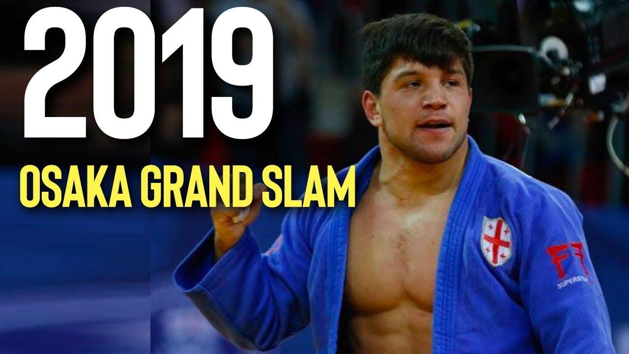 ბექა ღვინიაშვილი Beka Gviniashvili Osaka Grand Slam 2019