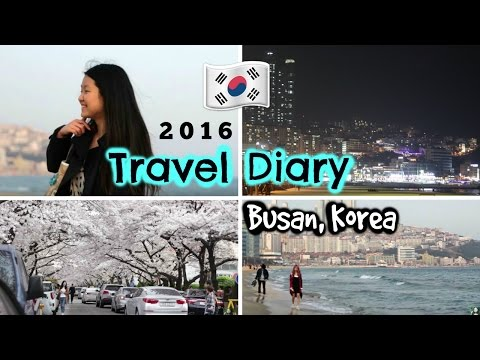 Travel Diary BUSAN, KOREA 2016 | Shopping, Food, Things to D