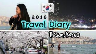Travel Diary BUSAN, KOREA 2016 | Shopping, Food, Things to Do