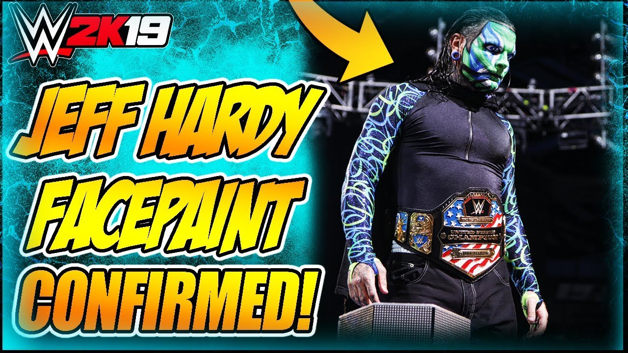 wwe how to make jeff hardy face paint