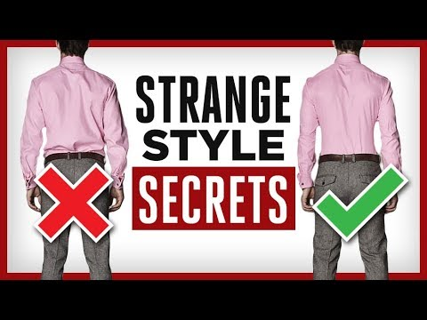 HIDDEN Style Secrets! | 7 Strange Items Sharp Dressed Men Own