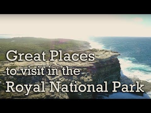Great places to visit in the Royal National Park, NSW