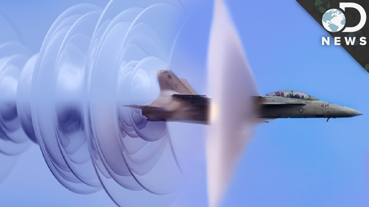Why Is A Sonic Boom So Loud? - YouTube