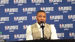 Thunder vs Blazers Game 5 - Damian Lillard
