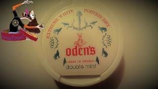 Der Oden´s double mint white dry Portion Snus I Snusfreak